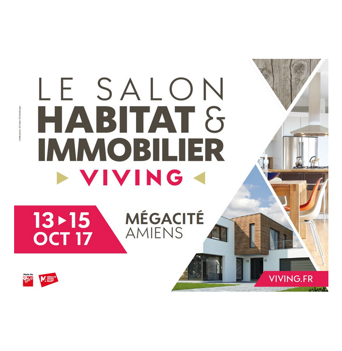 Salon habitat immobilier viving a megacite a amiens for Salon immobilier